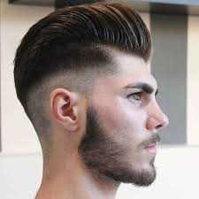 skin fade comb over hairstyle men s hairstyles 2017 pompadour haircut for men with skin fade
