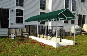 A Frame Awning Basement Awnings And Stairway Awnings A Hoffman