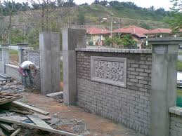 Garden Walls And Fences by Decorative Bricks For Garden Walls Appealing Picture Of Boral Also
