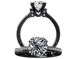 black band engagement rings black gold engagement ring 2017 wedding ideas magazine