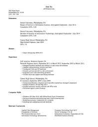 Sample Resume Objectives For Network Administrator by Pc Technician Resume Sample Computer Technician Specialist Resume