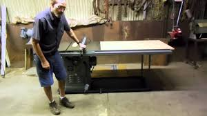diy biesemeyer table saw fence 5 of 5 how to make table saw fence guide rails biesemeyer style