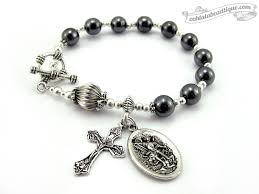 men s religious jewelry gemstone rosaries jewelry handmade in canada by oohlalabeadtique
