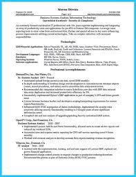 Sample Of Business Analyst Resume by Entry Level Business Analyst Resume Sample Example 4 Business