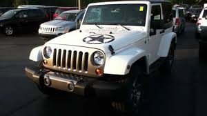 white convertible jeep craig dennis u0027 exclusive bright white jeep wrangler freedom edition