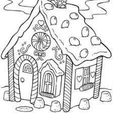 candy house coloring kids drawing coloring pages marisa