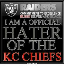 Raider Hater Memes - 25 best memes about haters gonna say its fake haters gonna say