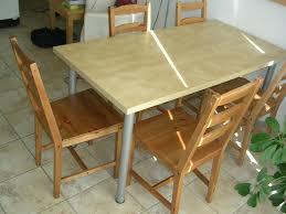 Table Haute Pour Cuisine by Ikea Table Cuisine Bois U2013 Mzaol Com
