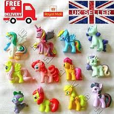 my pony cake topper figures decorations unicorn mini figure
