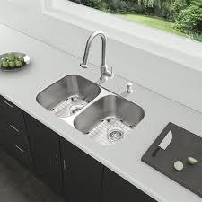 kitchen sink with faucet set vigo vg15339 32 in undermount stainless steel kitchen sink