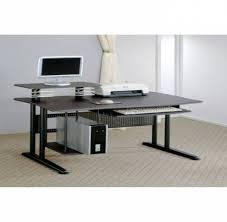 Computer Desks Modern Curved Office Desk Funky Office Desks Modern Desk With Shelves