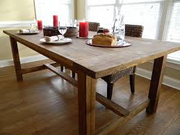 table dining room rustic farmhouse dining room table