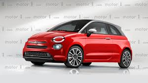 fiat 500 new fiat 500 rendered with evolutionary design big tech upgrades
