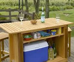 garden furniture plans bar