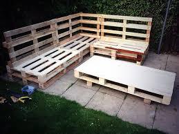Wooden Pallet Bench Wood Pallet Garden Furniture Wooden Pallets Pinterest