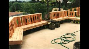 Designer Decks And Patios by Deck Bench Designs Deck Benches And Deck Seating Solutions Youtube