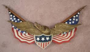 Eagle Scout Flag Iron Horse Antiques Antique Folk Art