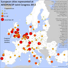 Europe Cities Map by Map Of Spatial Planning Research In Europe Misc On Land Use