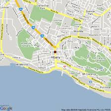 albany map map of albany australia hotels accommodation