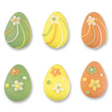 pastel easter eggs assorted pastel easter egg sugar decorations
