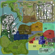 Map Of Area Codes Change Unrealistic Area Codes Los Santos Roleplay