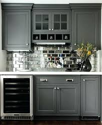 Mirrored Kitchen Backsplash Mirrored Kitchen Backsplash Kitchen Bar Mirrored Yet Another Idea