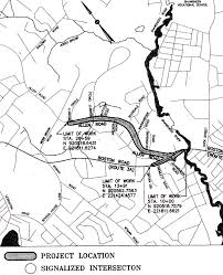Geometry Map Project Allen Road Reconstruction Massdot Tip Project Billerica Ma