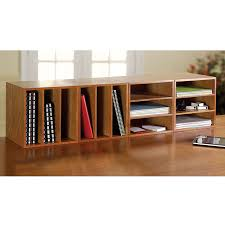Natural Wood Bookcases Bookshelf Marvellous Long Low Bookcase Astonishing Long Low