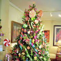 fully decorated trees for decore