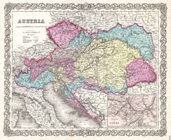 Map Of Czech Republic File 1855 Colton Map Of Austria Hungary And The Czech Republic
