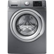 Add To Wishlist Loading Extra Samsung Wf42h5200ap 4 2 Cu Ft Front Load Washer W Steam Washing