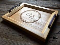 engraved serving trays personalized ottoman tray custom monogrammed wooden coffee table
