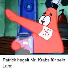 Mr Krabs Meme - anne frank patrick hagelt mr krabs für sein land mr krabs meme on