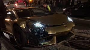 lamborghini crash crash lamborghini aventador lp700 4 roadster in warsaw youtube