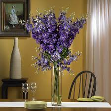 silk 38 inch delphinium flower arrangement free shipping today