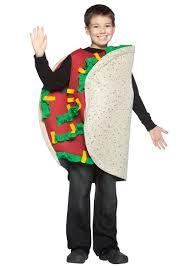 tex mex taco kids costume funny costumes food costumes