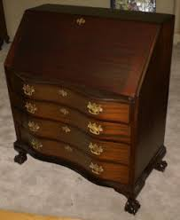 Antique Curio Cabinet With Desk Antique Secretary Desk Mahogany Secretary Chippendale Secretary Desk