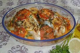 cuisine tunisienne poisson recette poisson au four