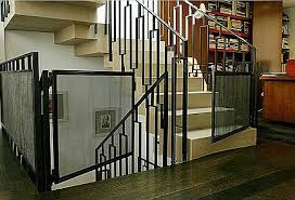 Baby Gates For Bottom Of Stairs With Banister Custom Stairway Gates