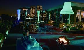 Top Bars In Los Angeles Los Angeles Beverly Hills The Beverly Hilton Roof Top Bar