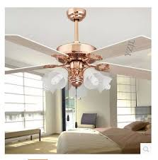 aliexpress com buy fan 52inch ceiling fans golden fan light