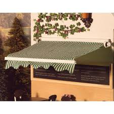Striped Canopy by The Dolls House Emporium Green Striped Sun Canopy