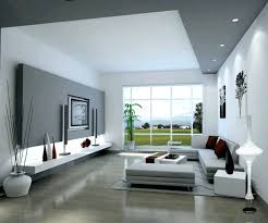 Gray And Beige Living Room by Wallpaper Feature Wall Living Room Home Design