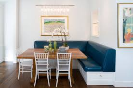 kitchen awesome kitchen bench seating ideas with blue corner