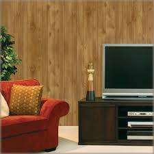 wood grain random grooved paneling