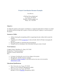 Best Resume Sample Project Manager by Project Coordinator Resume Examples Resume For Your Job Application