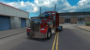 trucking companies with kenworth w900 kenworth w900 fixed v1 0 0 american truck simulator mods ats mods