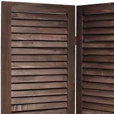 vintage room divider wooden slat room divider privacy screen partition blind wide