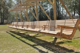 ideas wooden porch swing daybed swing patio swing