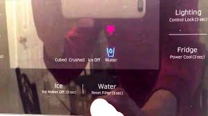 refrigerator red light refrigerator water filter reset how to reset refrigerator